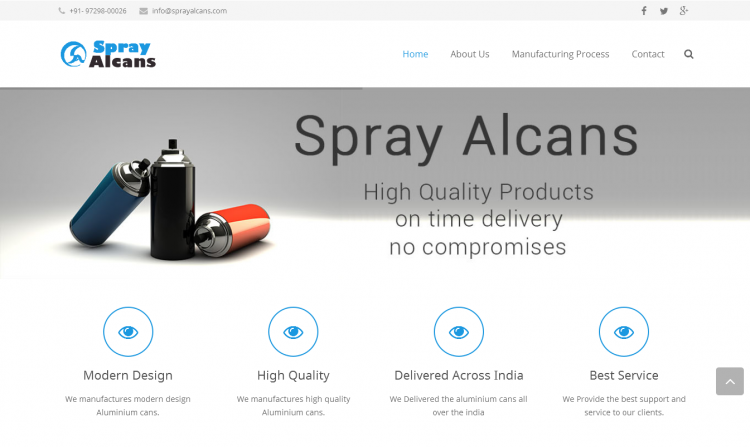 Spray Alcans
